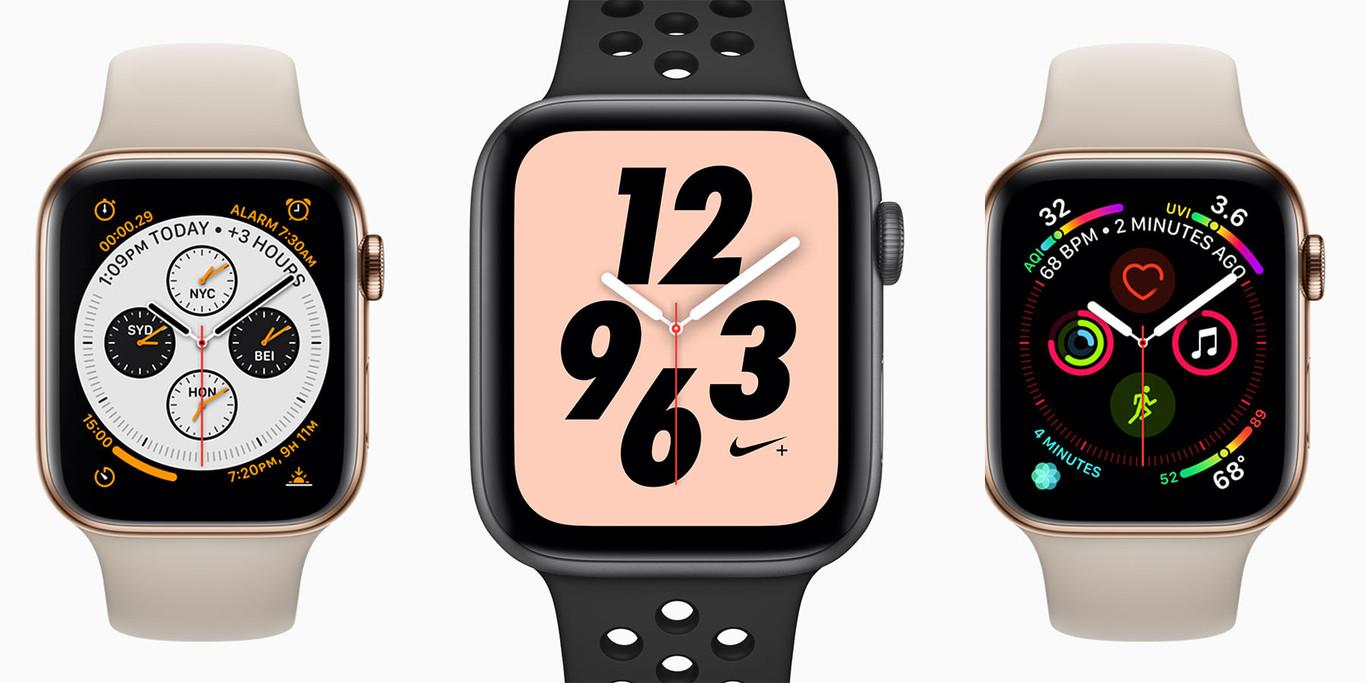 Apple Watch Series 4: más grande, con más pantalla y con electrocardiograma integrado