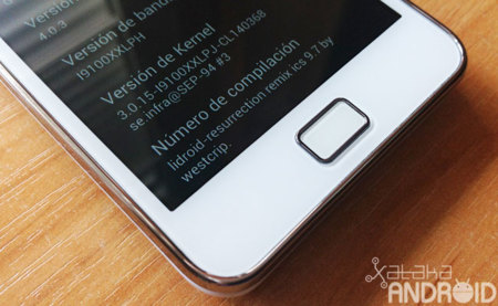 Cinco ROMs con Ice Cream Sandwich para el Samsung Galaxy SII