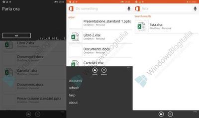 Imágenes y vídeo del nuevo asistente de Office en Windows Phone