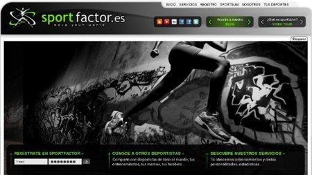 Sportfactor.es una web social para los amantes de la vida sana
