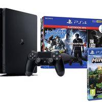 Estrena PS4 Slim de 1 TB con 5 juegazos por sólo 332,45 euros gracias al cupón PDESCUENTO5 de eBay