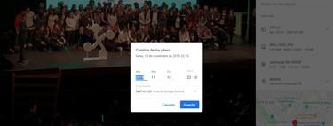 Cómo cambiar la fecha y hora de tus fotos con Google Fotos