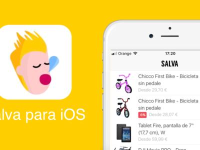 Salva es un vigilante de precios de productos de Amazon en tu iPhone. App de la Semana