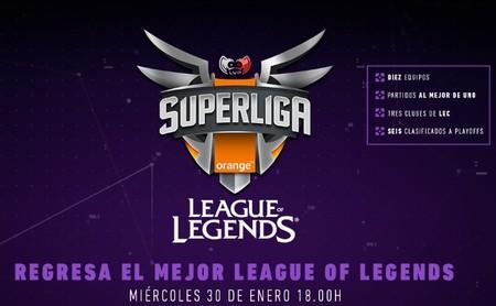 Así son los diez equipos a la nueva Superliga Orange de League of Legends