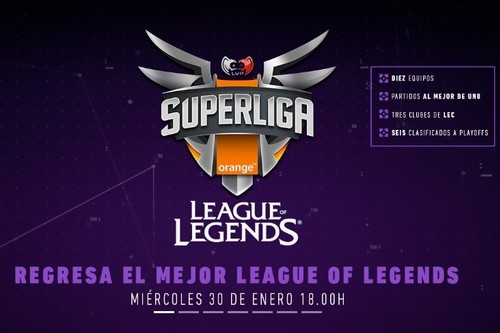 Así son los diez equipos a la nueva Superliga Orange de League of Legends