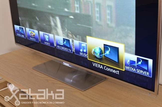 interfaz Viera smart tv
