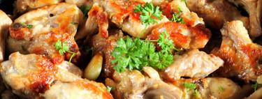 Conejo al ajillo: receta tradicional para mojar mucho pan
