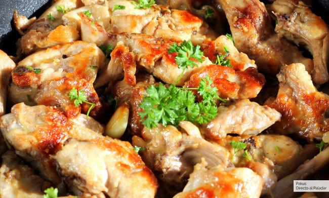 Conejo Al Ajillo Receta De Cocina Tradicional Fácil Sencilla Y Deliciosa