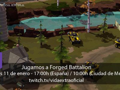 Streaming de Forged Battalion a las 17:00h (las 10:00h en CDMX)