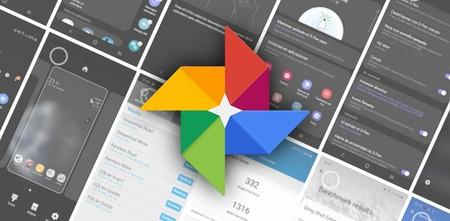 La nueva interfaz de Google Fotos se carga el menú de opciones y cambia de posición la búsqueda