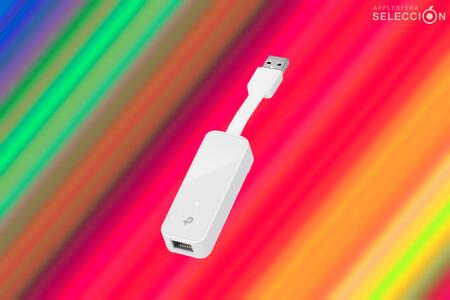 Internet por cable con el adaptador Gigabit Ethernet TP-Link UE300 para los Mac por menos de 10 euros, su precio mínimo en Amazon