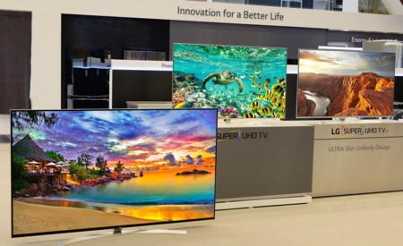 LG presenta su línea de televisores LCD para CES 2016: la tecnología HDR como insignia