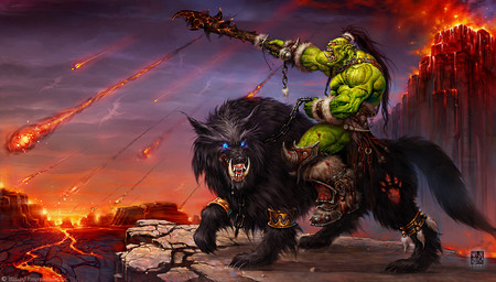 Wei Wang 2005 Warcraft 001 Orc S B