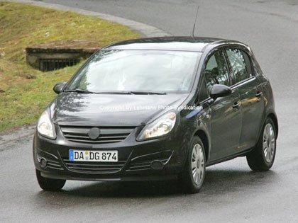 Opel Corsa 2007, nuevas fotos espías
