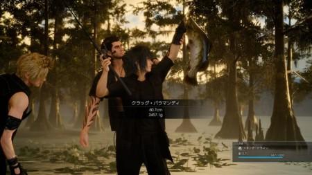 Toca salir a pescar en Final Fantasy XV [TGS 2015]