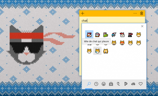 Emojis en Windows® 10