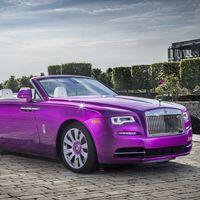 Rolls-Royce Dawn en fucsia para Michael Fux: su inspiración para el McLaren 720S visto en Pebble Beach