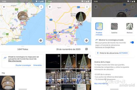 Google Photos Timeline