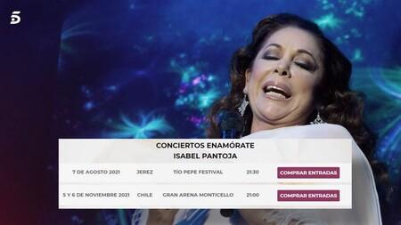 Conciertos Isabel Pantoja