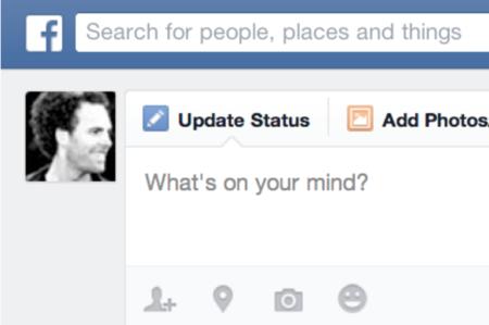 Facebook se entera cuando escribes algo y no lo publicas