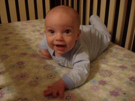 Calendario del bebé: cinco meses