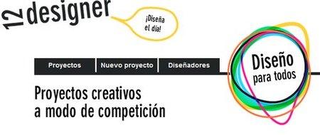 Plataforma de diseñadores en 12designer: tú pones el precio