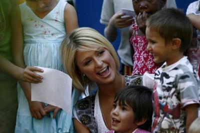 Paris Hilton, ¿solidaria en Suráfrica?