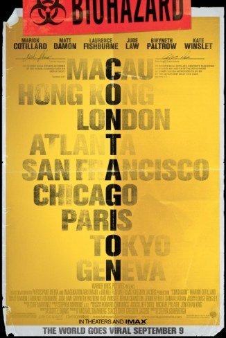'Contagio' de Steven Soderbergh, cartel