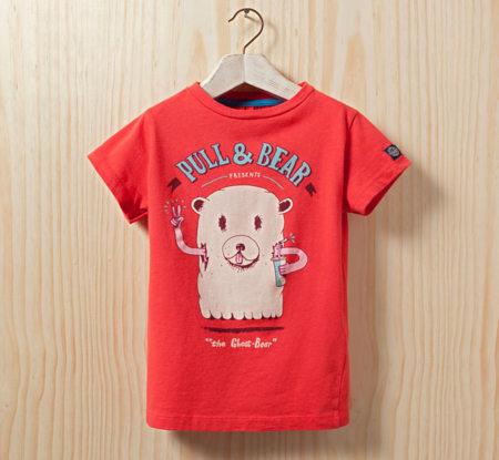 camiseta pull & bear niños
