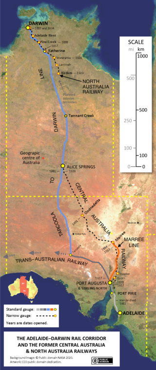 Lossless Page1 320px Map Of Australia S North South Rail Corridor Adelaide To Darwin Tiff