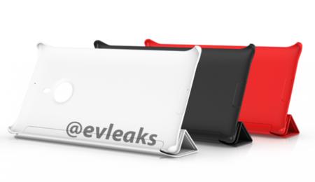 Imagen filtrada de las fundas protectoras del Nokia Lumia 1520