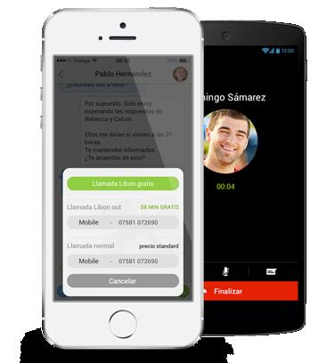 Sabemos bastante de cómo serán las aplicaciones de llamadas móviles del futuro y te va a sorprender: Libon a fondo