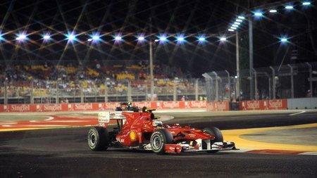 GP de Singapur de Fórmula 1: Fernando Alonso consiguió la pole y dependerá de sí mismo mañana