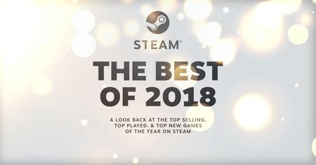 Steam revela las listas de sus juegos más vendidos y más jugados en 2018