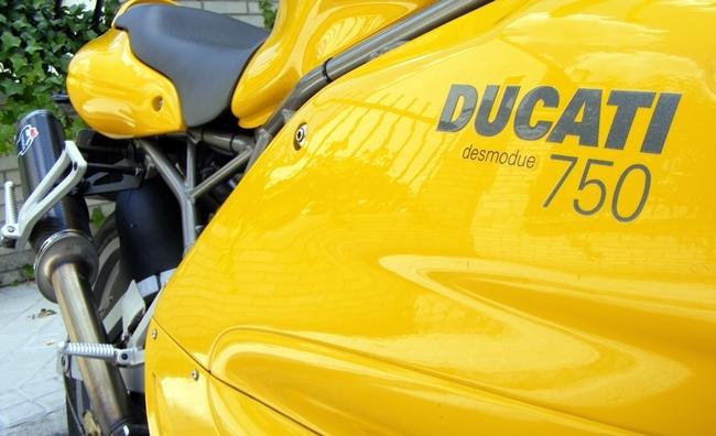 Ducati 750 SS ie