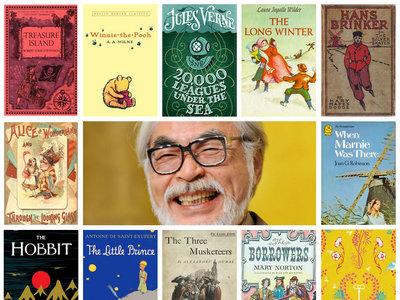 Los 50 libros infantiles preferidos de Miyazaki