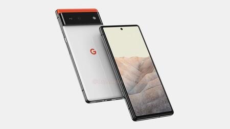 Google Pixel 6 Render Filtracion