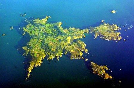 Isla de Sark: designada como primer lugar insular para observar estrellas