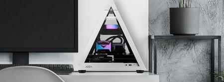 Si buscas un PC que llame la atención en el salón, esta caja Pyramid Mini 806 seguro que no pasará desapercibida
