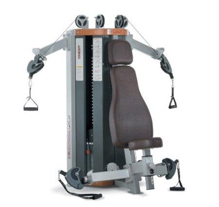 Máquina de poleas para entrenar de manera diferente