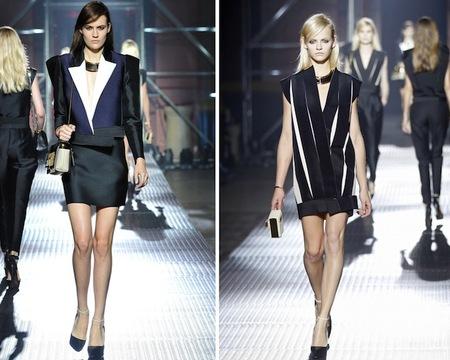 Lanvin, Balmain y Balenciaga presentan sus colecciones Primavera-Verano 2013