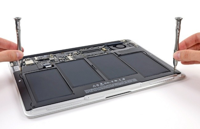 macbook air apple ifixit interior