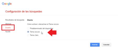 Como Activar Modo Interfaz Negro Google Mexico