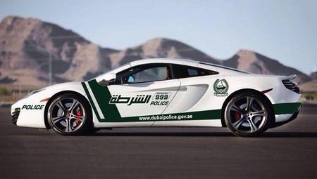 McLaren MP4-12C, próximo coche de policía en Dubái