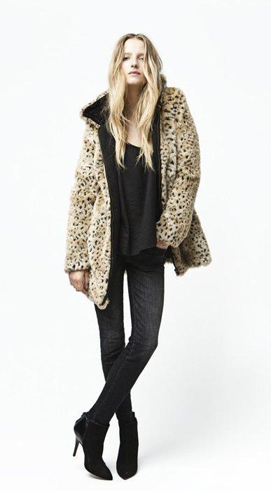 Abrigo animal Zara Trafaluc septiembre