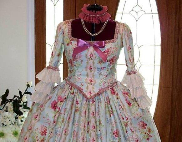 Vestido de María Antonieta