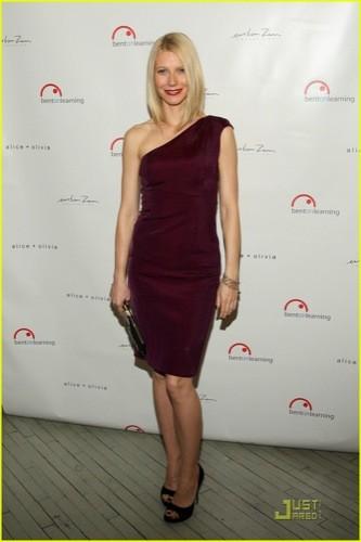 Gwyneth Paltrow en la gala benéfica de Bent on Learning