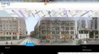 """Bing Maps añade panorámicas de las calles mediante """"Street Slide"""""""