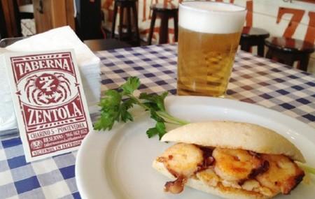 La 'Taberna Zentola' de Pontevedra oferta comer por 1 euro todos los viernes