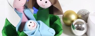 Manualidades de Navidad: 11 ideas para hacer un Portal de Belén DIY utilizando elementos reciclados